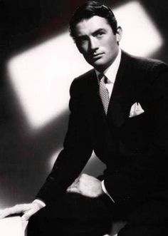 Gregory Peck.  They sure don't make 'em like they used to.