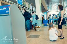 """Charity's how we think and see © Ralph Fiennes ... at the airport """"DOMODEDOVO"""" on June 2011, Moscow."""