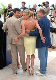 Hugh Jackman, Rebecca Romijn and Kelsey Grammer Cannes Film Festival 2006- 'X-Men: The Last Stand' Photocall Cannes, France- 22.05.06