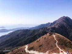 Discover my Style: Hiking the Sunset Peak on Lantau Island Hong Kong, Travelling, To Go, Hiking, Island, Mountains, Sunset, Style, Walks
