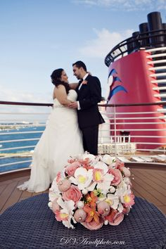 Destination Wedding Photographer Wedding Ceremony On The Carnival - Wedding on a cruise ship costs