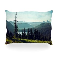 "Sylvia Cook ""Discover Your Northwest"" Landscape Outdoor Throw Pillow"
