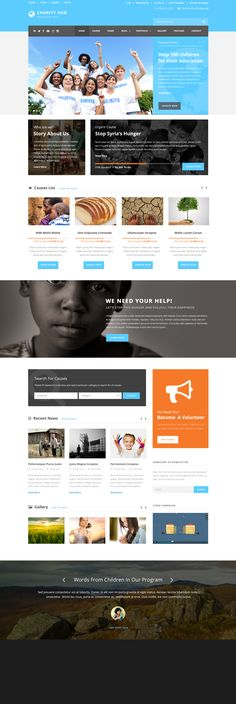 20+ BEST Charity WordPress Themes of 2014 #web #design #wordpress