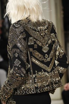Emilio Pucci Fall 2014 RTW - Details - Fashion Week - Runway, Fashion Shows and Collections - Vogue Fashion Details, Look Fashion, Runway Fashion, High Fashion, Fashion Show, Fashion Design, Milan Fashion, Street Fashion, Emilio Pucci