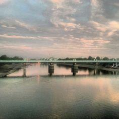 Putney Bridge sunset, London