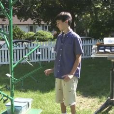13 year old Inventor Cracks Secret of Trees to Collect Solar Power