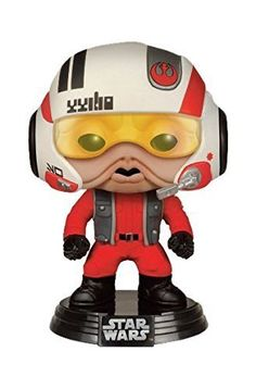 Funko Pop Star Wars The Force Awakens Nien Nunb with Helmet Gamestop Exclusive Vinyl Bobble-head