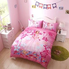 Kids bedding set 100 cotton twin disney princess bedding sets pinterest kids bedding - Twin size princess bed set ...