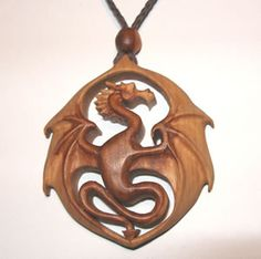 Dragon in hawthorn by Geoff King