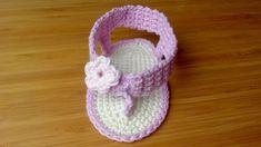 2d7bb1f6ea9 Tongs au crochet pour bébé (Partie 2) TUTO DMC
