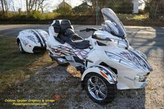 Lamonster's Can-am Spyder RT-S, Can-am Spyder RT graphics & wraps ...