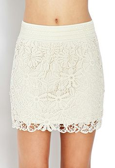 Must-Have Crocheted Skirt | FOREVER 21 - 2000089284