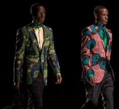 Model 12 african fashion men