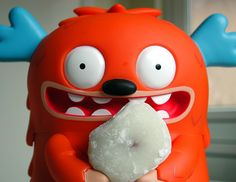 mochi monster Cute and funny toy design