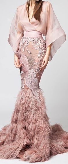 52 Ideas Embroidery Fashion Haute Couture Wedding Dresses For 2019 Couture Fashion, Runway Fashion, High Fashion, Womens Fashion, Elegant Dresses, Nice Dresses, Formal Dresses, Embroidery Fashion, Couture Collection