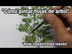 How to paint tree leaves with oil. Oil Painting Tips, Watercolor Painting Techniques, Painting Videos, Painting Lessons, Learn Art, Learn To Draw, Homemade Art, Acrylic Painting Tutorials, Learning Colors
