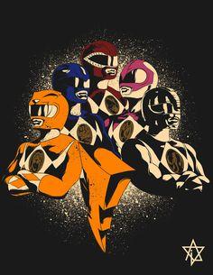 Mighty Morphin Power Rangers - Paulo Valdecantos Go Go Power Rangers, Power Rangers 1995, Original Power Rangers, Mighty Morphin Power Rangers, Power Rangers Originales, Desenho Do Power Rangers, Cartoon Network, Pawer Rangers, O Pokemon