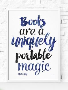 Or this one.   27 Literary Prints To Hang In Your Home Library