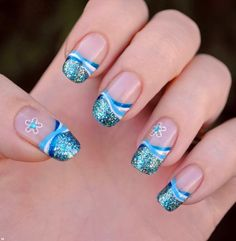 wonderful easy nail art designs 2014  | See more nail designs at www.nailsss.com/...