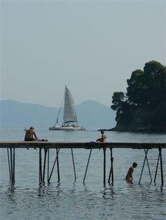This photo from Kerkyra, Ionian Islands is titled 'corfu'. Corfu Greece, Mykonos Greece, Athens Greece, Santorini, Greek Isles, Greece Islands, Greece Travel, Romantic Travel, Homeland