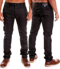 31ef1c058226 Details zu Herren Jeans Hosen Herrenjeans Baggy Stretch Bootcut Jeanshose  Röhrenjeans H2042