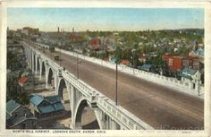The old Viaduct on North Hill.