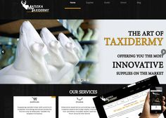Check Out Our New Website Design!! | Matuska Taxidermy Supply Company | Offering You The Most Innovative Supplies on the Market  http://www.matuskataxidermy.com