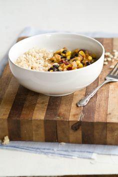 Chipotle Black Bean, Corn, and Rice Bowl   Naturally Ella