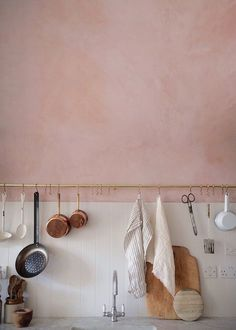 roze, trendkleur 2016, voor in de keuken in combi met koper