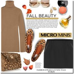 A fashion look from September 2015 featuring STELLA McCARTNEY sweaters, Yves Saint Laurent mini skirts and Lanvin flats. Browse and shop related looks.