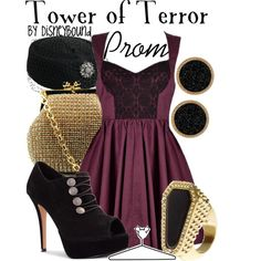 Tower of Terror, created by lalakay on Polyvore