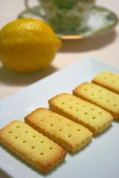 Lemon cookies * salad oil use