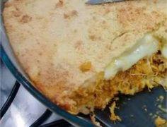 Torta de frango com requeijão de liquidificador - Ideal Receitas