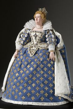 Marie De Medici Doll Photo courtesy of the Gallery of Historical figures (http://www.galleryofhistoricalfigures)