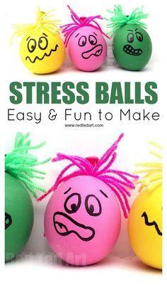 How to make a Stress Ball. Fun and easy DIY Balloon Stress Balls for Father's Day or Teacher Appreciation Day. These DIY Stress Balls also make a great sensory toy stressballs sen sensory fathersday teachers 568438784212551055 Fun Diy Crafts, Camping Crafts, Crafts For Kids To Make, Crafts For Teens, Kids Diy, Wood Crafts, Easy Diys For Kids, How To Make A Stressball, Diy Crafts Summer