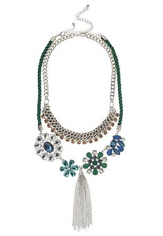 double statement necklace with tassel (original price, $29) available at #Maurices