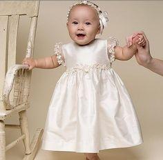 vestidos para bautismo de bebe cortos