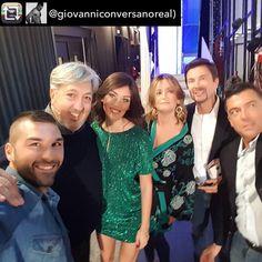 Ecco @giovanniconversanoreal e @giadapezzaioliofficial ospiti nella puntata di ieri della trasmissione #Pomeriggio5 con #outfit #CityModa.