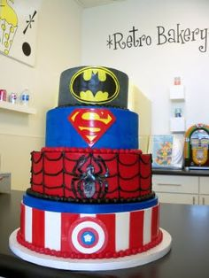 Thinking Isaiah deserves a radtabular cake for his fourth birthday. I think I can do something similar!!!