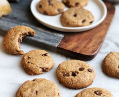This grain- and egg-free recipe also works asa fantastic edible raw cookie dough. Serves: Makes 10 cookies Prep: 10 minutes Cook: 10 minutes Ingredients 1/2 cup almond butter (or nut butter of choice) 1/4 cup pure maple syrup 1/2 cup almond flour 1 tsp pure vanilla extract 1/2 tsp sea salt 1/4 cup dairy-free