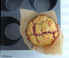 """""""Peanut"""" Butter and Jelly Muffins 