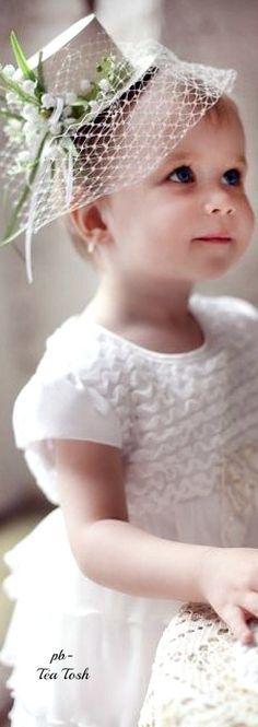 The cutest flower girl ever!!! #flowergirl #hat #wedding @eventsbyonefineday