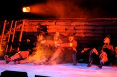 The horror of Gallipoli, the terrain, the constant gunfire, the weather, the shortage of supplies and manpower, in my play about John Simpson Kirkpatrick.