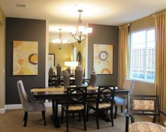 Wheat Living Room Furniture Gray Walls Design, Pictures, Remodel, Decor and Ideas. Like the way drapes are hung