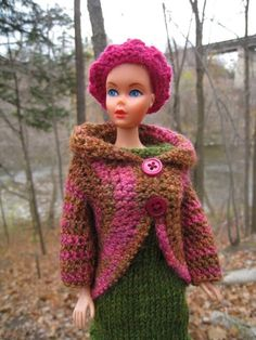 FREE Barbie Crochet Jacket Pattern