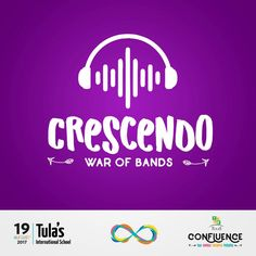 Crescendo at Confluence For all those rock stars that aspire to greatness and want to make the crowd rock on the music, Crescendo is to show madness and spread the rock magic on stage. So all the rock bands are welcome to show your talent! Boarding Schools In India, India School, Dehradun, Rock Stars, Interesting Facts, The Rock, Rock Bands, Madness, Crowd