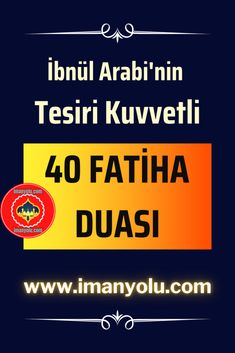Tesiri Kuvvetli 40 Fatiha Duası - İslami Paylaşımlar, Faziletli Dualar, Ayetler, Hadisler ve İman Yolu Allah, Ads, Karma, Books, Prayer, Libros, Book, Book Illustrations, Libri