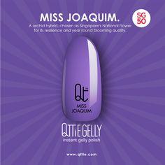 QTTiE: Qttie x SG50: Miss Joaquim