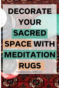 Decorate your sacred space with meditation rugs. round meditation mat, mandala meditation mat, meditation mats products, meditation mat design #meditation #yoga #spirituality #homedecor #rugs