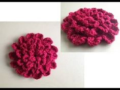 How to Crochet a Flower Pattern #10 by ThePatterfamily... single layer daisy like, not like pic, but similar